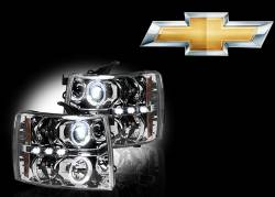 Chevrolet Projector Headlights - Chevrolet Silverado Projector Headlights
