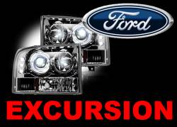 Ford Projector Headlights - Ford Excursion Projector Headlights