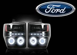 Ford Projector Headlights - Ford Superduty Projector Headlights