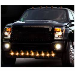 Lower Front Air Dam LED Running Lights