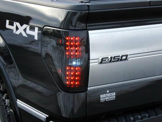 2014 F150 Headlights >> Ford F-150 & Raptor 2009-14 Recon Smoked Headlights & Tail ...