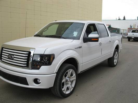 2014 F150 Headlights >> Ford F-150 & Raptor 2009-14 Recon Smoked Headlights & Tail Lights & Third Brake Light & LED Side ...
