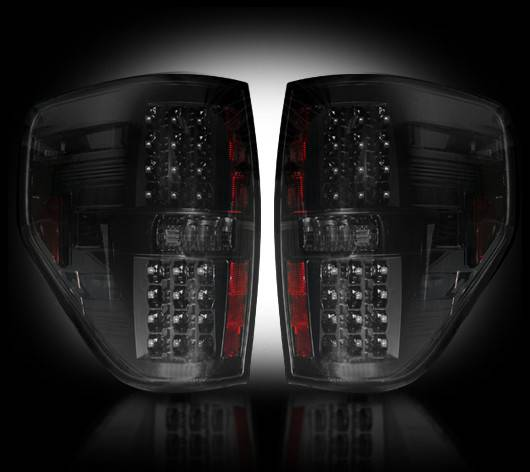 ford f 150 raptor 2009 14 recon smoked headlights tail. Black Bedroom Furniture Sets. Home Design Ideas