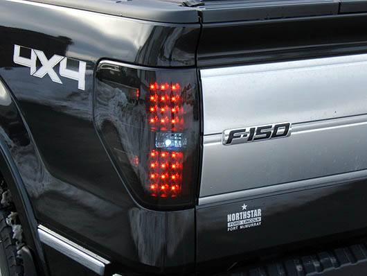 1987 Ford F150 >> Ford F-150 & Raptor 2009-14 Recon Smoked Headlights w ...