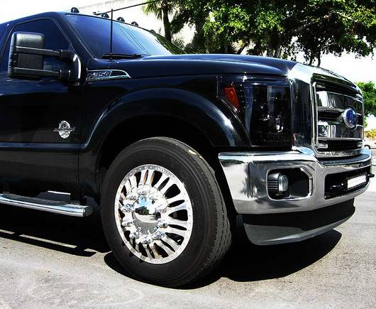 ford superduty f 250 to f 550 2011 16 recon smoked. Black Bedroom Furniture Sets. Home Design Ideas