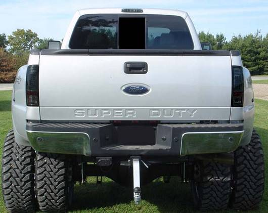 Dually Ford Superduty F 350 To F 550 2011 16 Recon Smoked