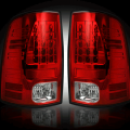 RECON - RECON 264169RD | LED Tail Lights - RED (2009-2016 Dodge Ram 1500 & 2010-2016 Ram 2500/3500)