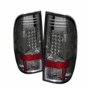 Spyder® Smoke LED Tail Lights | 2008-2016 Ford Super Duty | Dale's Super Store