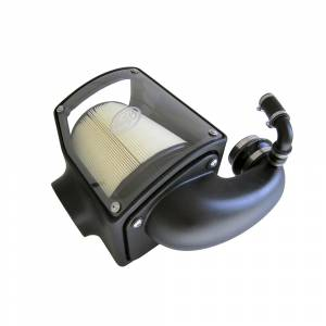 S&B Filters - S&B Cold Air Intake Kit 75-5045D   GM Diesel 6.5L 1992-00 (dry disposable filter)