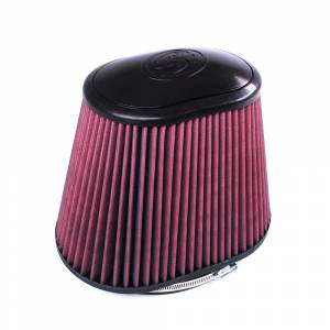 S&B CR-42158 Filter for Competitor Intakes Cross Reference: Banks 42158 (Cleanable, 8-ply)