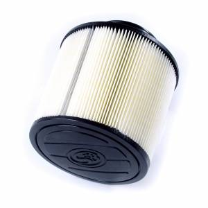 S&B Filters - S&B KF-1055D Replacement Filter for S&B Cold Air Intake Kit (Disposable, Dry Media)