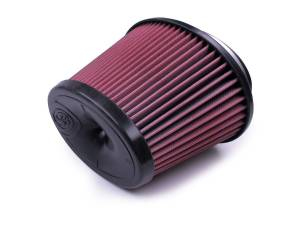 S&B Filters - S&B KF-1058 Replacement Filter for S&B Cold Air Intake Kit (Cleanable, 8-ply Cotton)