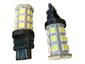 Outlaw Lights - 3157 24 SMD White LED Reverse Bulbs - Outlaw Lights