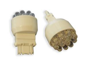 Outlaw Lights - 3156 12 LED White LED Reverse Bulbs - Outlaw Lights