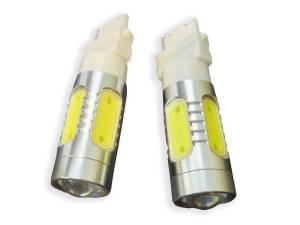 Outlaw Lights - 3156 6 Watt High Power White LED Reverse Bulbs - Outlaw Lights