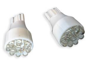 Outlaw Lights - T15 9 LED White LED Reverse Bulbs - Outlaw Lights