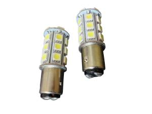 Outlaw Lights - 1157 24 SMD White LED Reverse Bulbs - Outlaw Lights