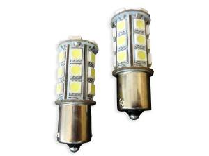 Outlaw Lights - 1156 24 SMD White LED Reverse Bulbs - Outlaw Lights