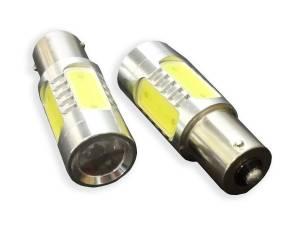 Outlaw Lights - 1156 6 Watt High Power White LED Reverse Bulbs - Outlaw Lights