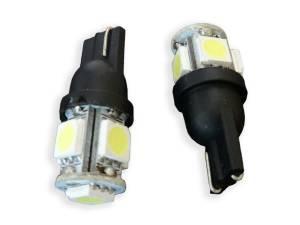 Outlaw Lights - T10 5 SMD - White LED Interior Bulb - Outlaw Lights