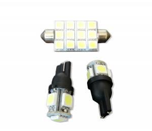 Outlaw Lights - Interior LED Dome Lights For 2009-13 Dodge Ram 1500 & 2010-14 Ram 2500/3500  - Outlaw Lights