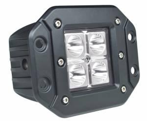 """Outlaw Lights - 3"""" Flush Mount LED Light Bar - 12 Watt  - Outlaw Lights"""