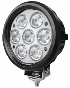 "Outlaw Lights - 6"" Round LED Light - 70 Watt  - Outlaw Lights"