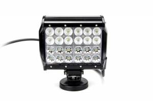 "Outlaw Lights - 7"" Quad Row Light Bar - 72 Watt  - Outlaw Lights"