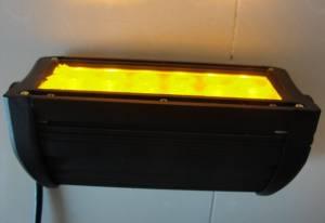 """Outlaw Lights - 7.5"""" Amber - White Switchback Light Bar - 36 Watt  - Outlaw Lights"""