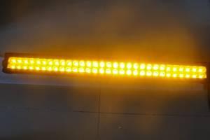 """Outlaw Lights - 31.5"""" Amber - White Switchback Light Bar - 180 Watt  - Outlaw Lights"""