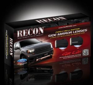 Recon RED Illuminated Emblems SVT Ford RAPTOR 2009-2014 # 264283RDBK
