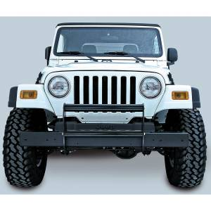 Rugged Ridge - Rugged Ridge Brush Guard Gloss Black 1997-2006 Jeep TJ/LJ Wrangler