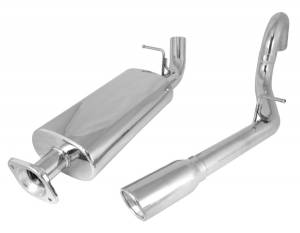 Rugged Ridge - Rugged Ridge Cat Back Exhaust System 2004-2006 Jeep LJ Wrangler Unlimiteds