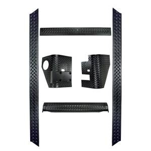 Rugged Ridge - Rugged Ridge 6-Piece Body Armor Kit 1997-2006 Jeep TJ Wrangler