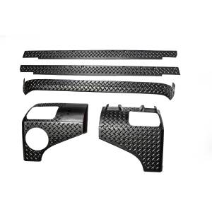 Rugged Ridge - Rugged Ridge 5-Piece Body Armor Guard Kit 2007-2012 Jeep 2-Door JK Wrangler