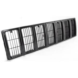 Rugged Ridge - Rugged Ridge Grille Insert Black 1997-2001 Jeep XJ Cherokee