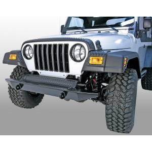 Rugged Ridge - Rugged Ridge Front Fender Guards Body Armor 1997-2006 Jeep Wrangler