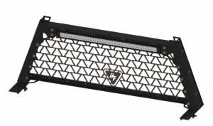 """Dark Threat Fabrication - DTF Headache Rack w/ 42"""" LED Light Bar For 2004-15 Ford F-150 Trucks"""