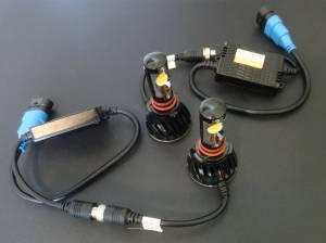 Outlaw Lights - LED Fog Light Kit For 1999-13 Ford Superduty Trucks - H10 6K  - Outlaw Lights