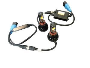 Outlaw Lights - LED Fog Light Kit For 2003-06 Chevrolet Silverado Trucks - H10 6K  - Outlaw Lights