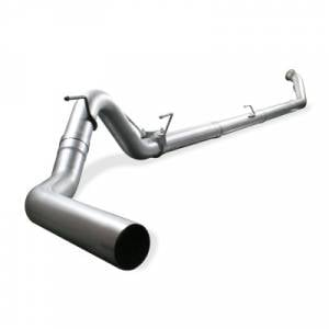 "aFe Power - Atlas 4"" Aluminized Straight Pipe Exhaust for 2003-2007 Ford 6.0L Powerstroke 