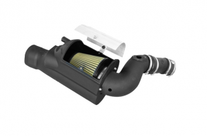 aFe Power - AFE 75-80392 | Magnum FORCE Pro-GUARD 7 WET - Stage-2 Si Intake System For Ford 03-07 6.0L