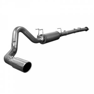 """aFe Power Large Bore HD 4"""" Stainless Downpipe Back 