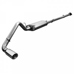 aFe Power - CAT Back Stainless Steel With Bungs Exhaust Systems | GM 1500 V8  2007-2008 157 WB  | AFE 49-44006