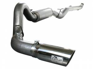 "aFe Power - Mach Force XP 5"" Stainless Steel Downpipe Back w/ Tip 
