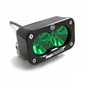 Baja Designs - S2 Pro LED Light - Driving/Combo, Green Lens by Baja Designs