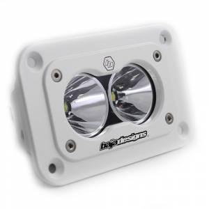 Baja Designs - S2 Pro LED Light - White Flush Mount Spot by Baja Designs