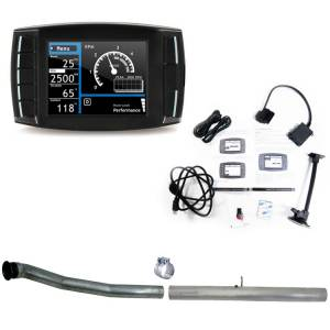 "H&S Mini Maxx Race Tuner & 4"" CAT/DPF Race Pipe 