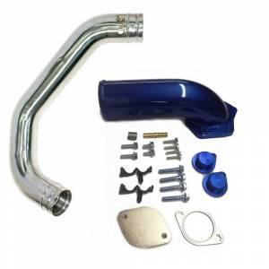 Outlaw Diesel EGR Delete w/Intake Elbow & Flo~Pro Intercooler Pipe | 2008-2010 6.4L Ford Powerstroke | Dale's Super Store