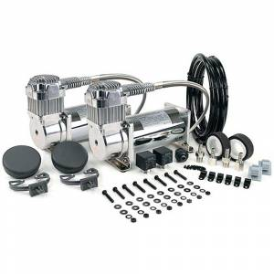 VIAIR 380C Dual Performance Air Compressor Value Pack - Chrome | 38003 | Dale's Super Store